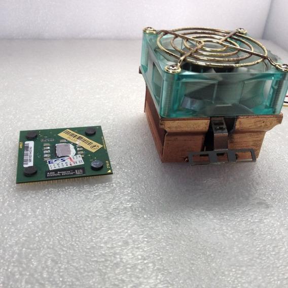 Processador Amd Sempron 2400 Soquete 462 + Cooler Cobre