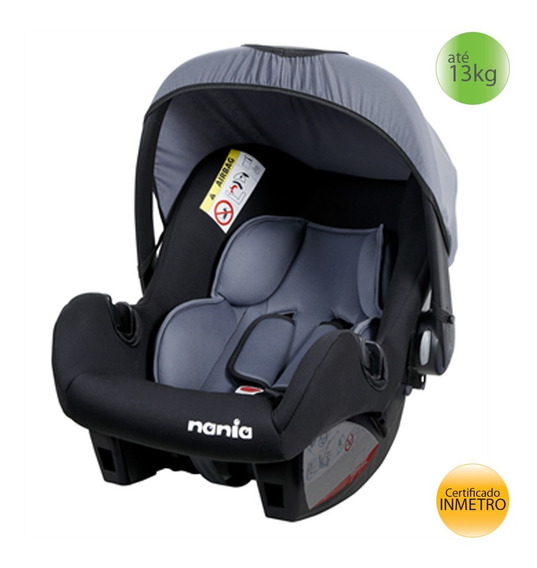Bebê Conforto 0+ (13kgs) Nania Ange Accés Foncé - Cinza