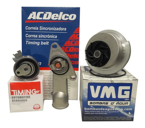 Kit Distribucion + Termostato + Bomba Agua Orig Chevrolet Corsa