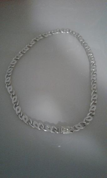Cordão De Prata Maciça 950