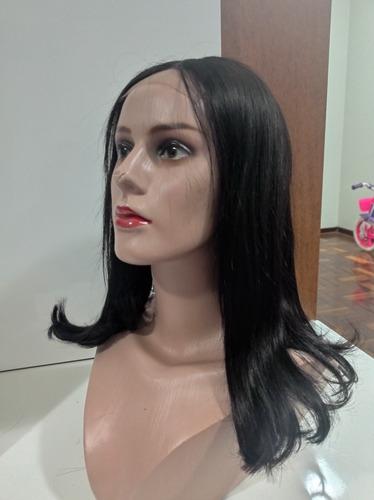 Front Lace Wig Peruca Natural Bob Repartição Livre 30cm