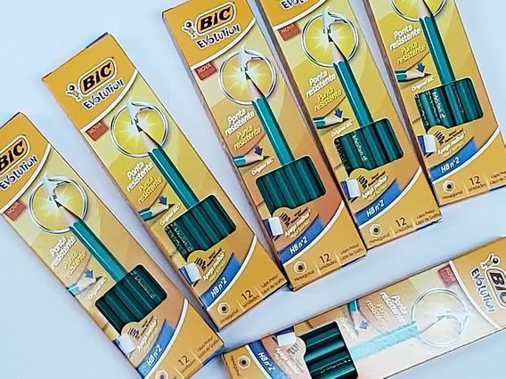 Lapis De Escrever Bic Evolution/ Caixa Com 12 Unidades