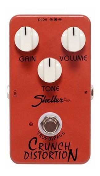 Pedal Para Guitarra Shelter Chrunch Distortion Scd Distorção