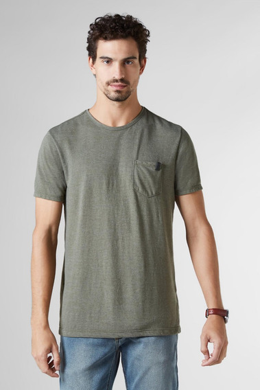Camiseta Pf Enxuto Bolso Mescla Reserva