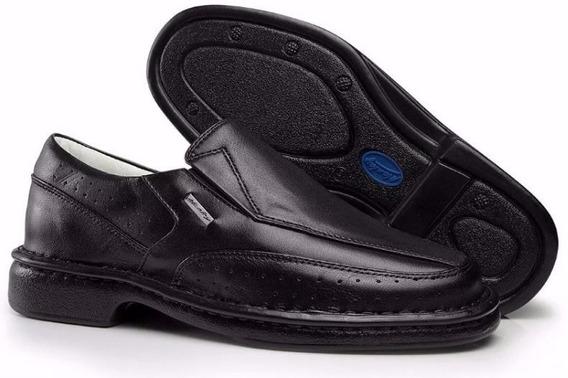 Sapato Alcalay 0751 Em Couro Adulto