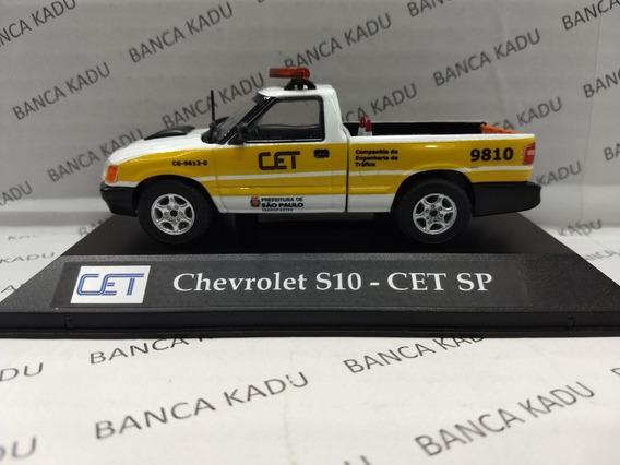 Miniatura S10 Da Cet São Paulo Transito C E T