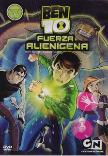 Ben 10 Fuerza Alienigena Temporada 1 Uno Vol 1 Uno Dvd