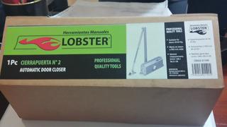 Brazo Hidraulico Cierra Puertas Lobster Nro 2 40 - 65 Kg