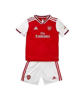 Kit Infantil Arsenal 2020 - Özil, Lacazette, Iwobi, Xhaka