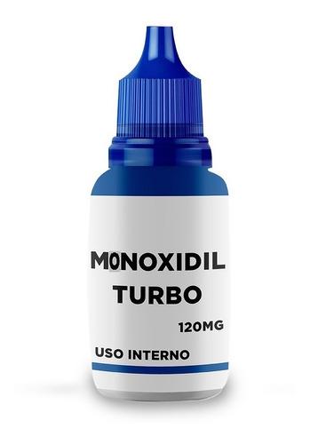 Imagem 1 de 5 de Monoxidil Turbo Masculino Cabelo E Barba 120 Ml