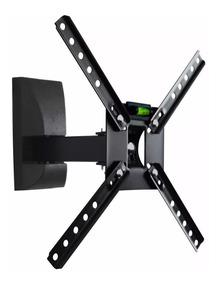 Kit C/10 Suporte Art Tv Brasforma Sbrp130 Preto 10 A 55 Pole