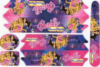 Adesivo Infantil Bike 12/14/16/20 Barbie Frozen Gata Marie.*