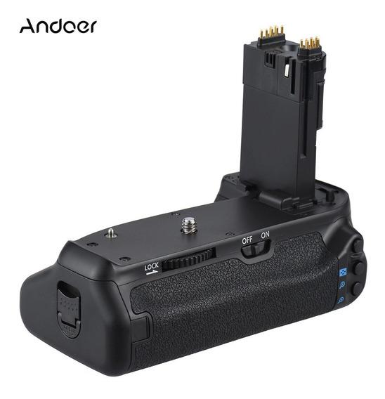 Andoer Bg -1t Vertical Titular Aperto Bateria Para Cânone Eo