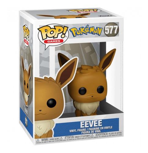 Imagem 1 de 3 de Boneco Funko Pop! Pokémon - Eevee