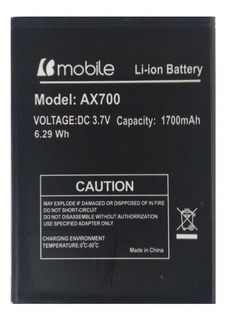 Bateria Bmobile Ax700 1700 Mah 100% Nueva