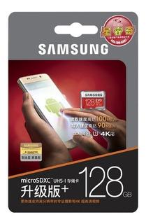 Cartão Micro Sd Sdxc Samsung Evo Plus 128 Gb 100mb/s U3 4k