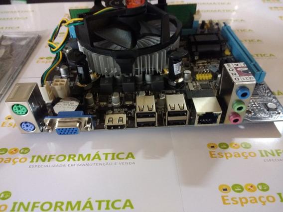 Kit Processador I3 - 2100 + Placa Mãe H61 + 4gb Ddr3