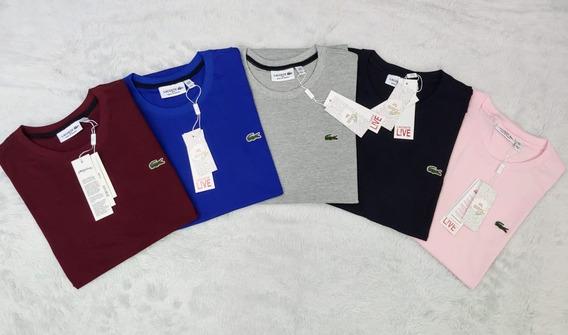 Combo C/10 Camisetas Lisa Lacosstte