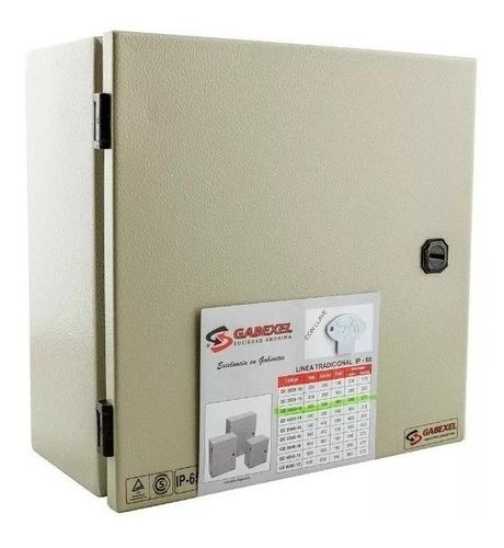 Gabinete Tablero Metalico Gabexel Ip65 Estanco Ge3030-16