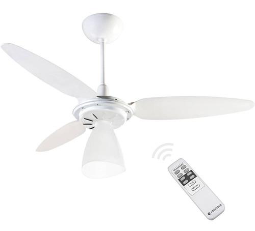 Imagem 1 de 4 de Ventilador De Teto Ventisol Wind Light Com Controle Remoto - 130w - Econômico - Silencioso - 220v
