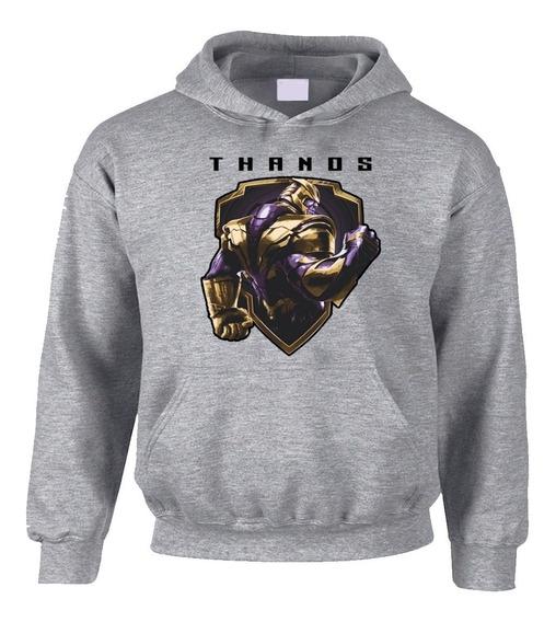 Sudadera Hoodie Avengers Endgame Thanos Gris Precio Especial