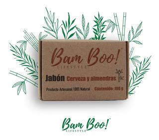 Jabón De Cerveza Bam Boo! Lifestyle® 100 Gr