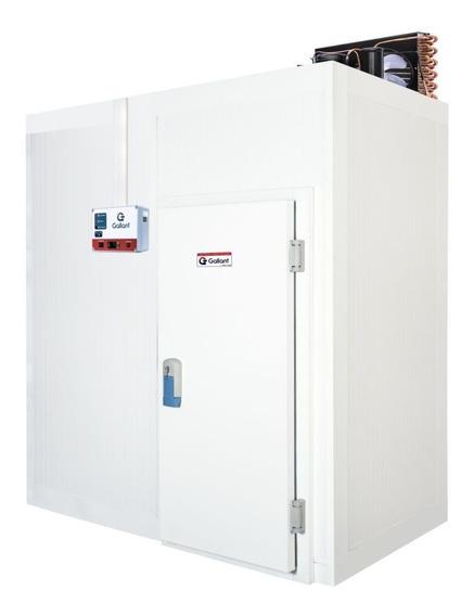 Câmara Fria Gallant 01r-esp 2x1 Paineis Resfriado Standard Sem Piso Pain Com Cond Elgin 220v Mono