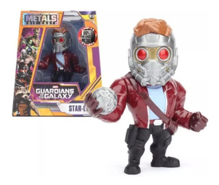 Figura Metal Star Lord Guardianes De La Galaxia Marvel Jada