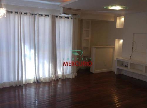 Apartamento Com 3 Dormitórios À Venda, 140 M² Por R$ 550.000,00 - Altos Da Cidade - Bauru/sp - Ap2721