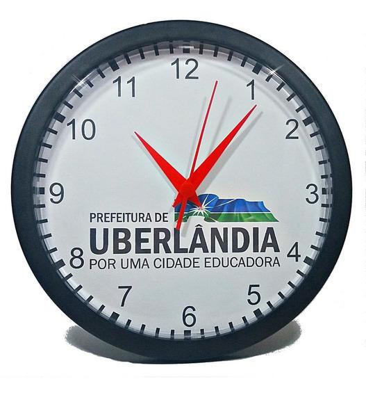 15 Relógios Personalizados Brinde Empresas (com Caixas) 24cm