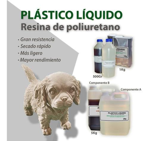 Imagen 1 de 6 de Plastico Liquido -resina De Poliuretano