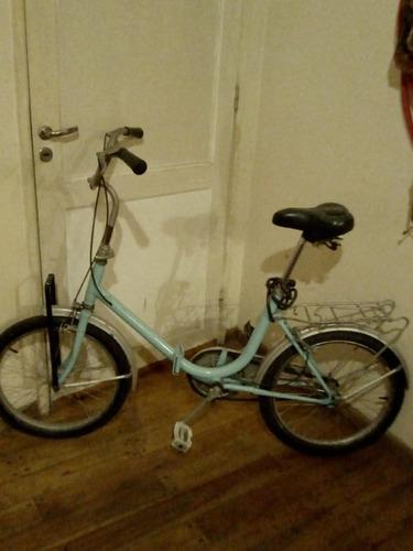 Bicicleta Aurora Antigua Rod.20 Restaurada Y Para Delivery