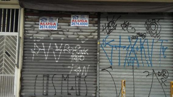 Salão Comercial Para Locação, Vila Antonieta, São Paulo - Sl0810. - Sl0810