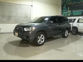 Toyota Highlander Limited Aa Qc Piel 4x4 Blindada Nivel B3