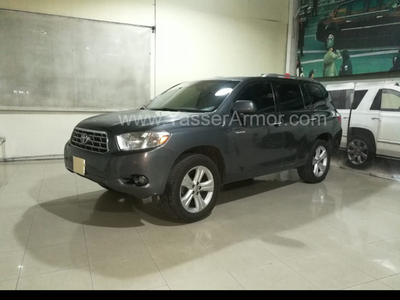 Toyota Highlander Limited Aa Qc Piel 4x4 Blindada Nivel B3