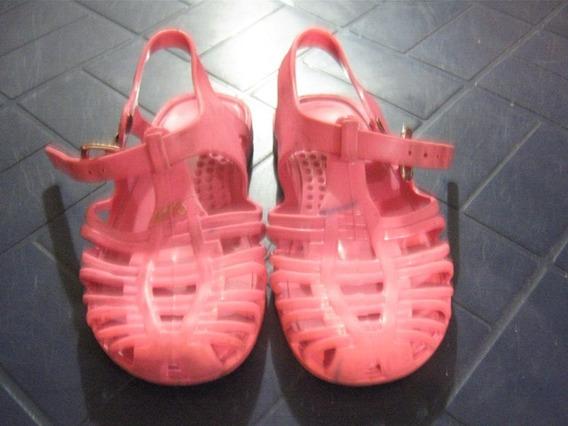Sandalias Plasticas Para Niñas T-23-24