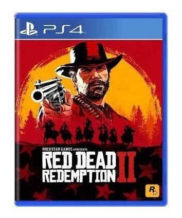 Jogo Ps4 - Red Deap Redemption 2