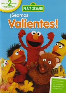 Seamos Valientes Plaza Sesamo 3 Tres Episodios Dvd