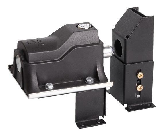 Kit Trava Eletromagnética Portão E Suporte Temporizador Eco