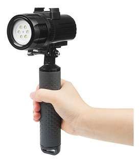 Lampara Buceo 60 Mts Sumergible 1500 Lumens Gopro 8 7 6 5 4