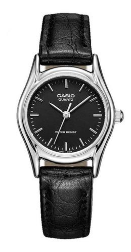 Reloj Mujer Casio Ltp-1094e-1a Análogo Negro / Lhua Store