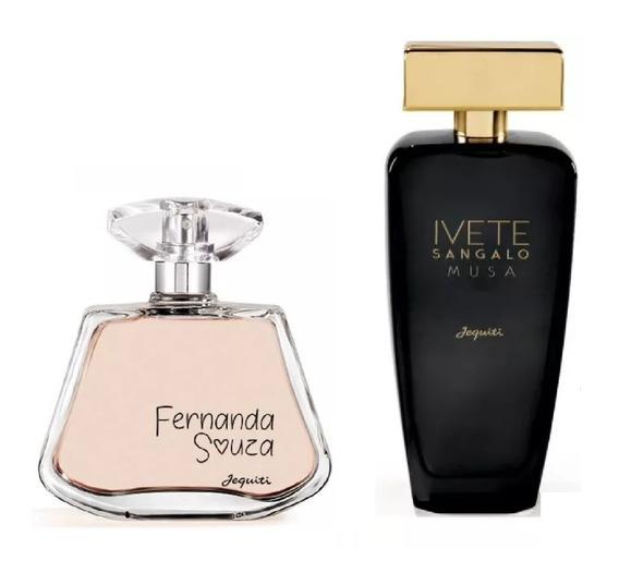 Combo Perfumes Jequiti Ivete Sangalo Musa + Fernanda Souza