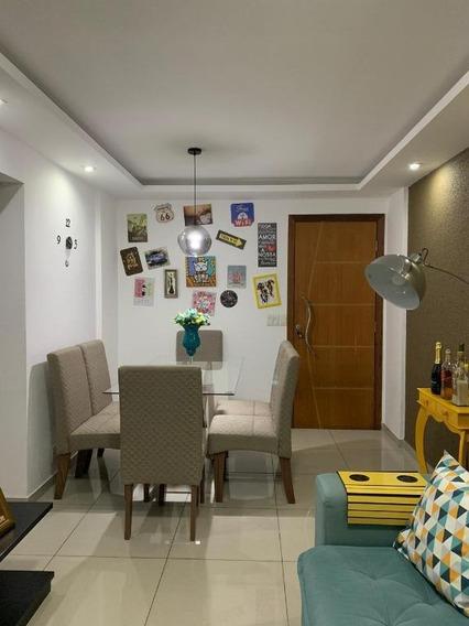Apartamento Em Colubande, São Gonçalo/rj De 60m² 2 Quartos À Venda Por R$ 200.000,00 - Ap357013