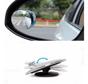 Espelho Auxiliar Convexo Articulável Carro Moto 50mm Unidade