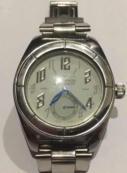 Relógio Fóssil Defender Original, Em Aço, Com Cronógrafo.