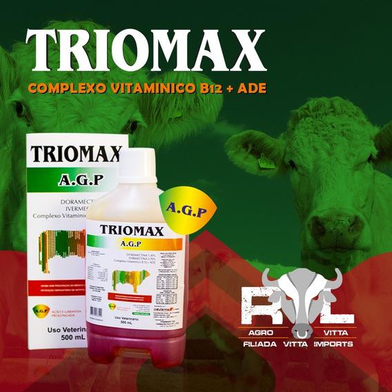Triomax Agp Doramectina 1,30% + Ivermectina 3,70%