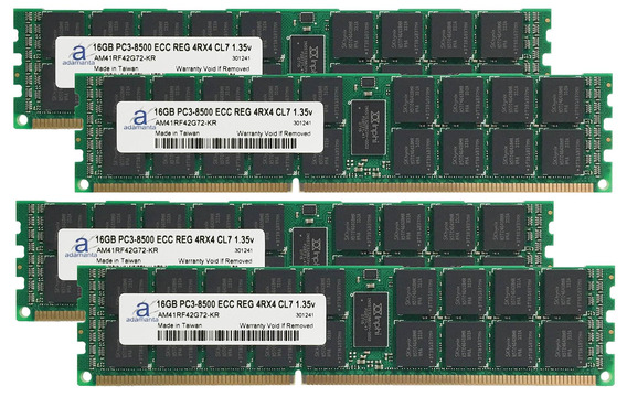 Adamanta 64gb (4x16gb) Server Memory Upgrade For Servers Ddr