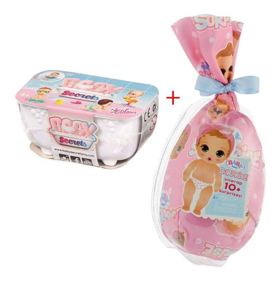 Kit Baby Born + Baby Secrets