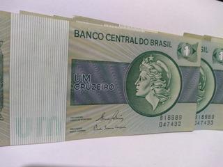 Cedula 1 Cruzeiro 6 Unidades.
