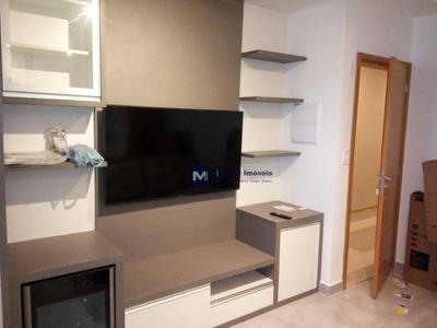 Apartamento Mobiliado Para Alugar No Campoloim, Sorocaba - Ap1138